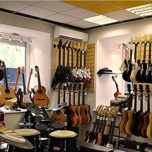 Музыкальные магазины Аши